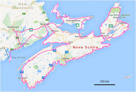 map of canada east coast map east coast canada major tourist attractions maps