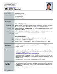 newest resume format newest resume format new resume format free philippines
