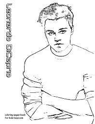 recommended stories leonardo dicaprio hollywood star coloring at