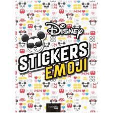 stickers emoji disney livre jeux et coloriages cultura