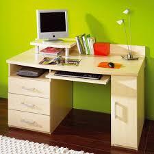 Pc Schreibtisch Mit Aufsatz Pc Schreibtisch Amsterdam In Ahorn Dekor Wohnen De