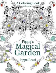 pippa u0027s magical garden coloring book anvil publishing inc
