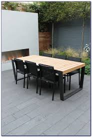 Mid Century Modern Outdoor Furniture Modern Plastic Outdoor Dining Chairs Chairs Home Design Ideas
