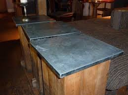 Zinc Top Bar Table Zinc For The Zinc Worktops Sector