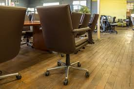 Office Chair On Laminate Floor Keilhauer Elite Mid Back Brown Leather Executive Chairs U2022 Peartree