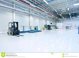 Warehouse Interior Large Modern Warehouse Interior Stock Photo Image 40549805