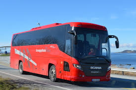 volvo trucks china a few norwegian buses on e39 at sokn
