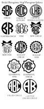 Create Monogram Initials Best 25 Monograms Ideas On Pinterest Monogram Fonts Monogram