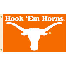 Texas Longhorn Home Decor University Of Texas Longhorns Ut Hook U0027em Horns