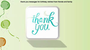 thanksgiving message for friends thank you message for birthday wishes youtube