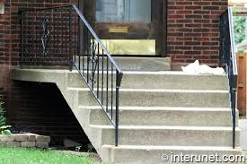exterior concrete stairs family tree how to update exterior