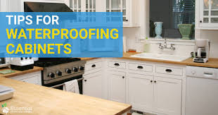 best waterproof material for kitchen cabinets 10 tips for waterproofing cabinets essential home and garden