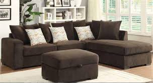 microfiber sectional sofa by coaster 50044 b
