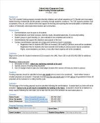 sample funding proposal form 10 free documents in word pdf