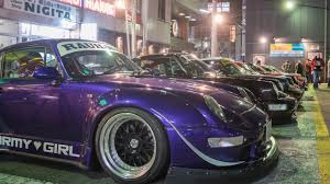 porsche rwb supreme rwb new year meet 2017 a rauh night at roppongi youtube