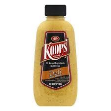 koops mustard koops mustard deli spicy brown 12 oz pack of 12 shop gourmet