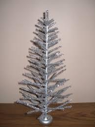 tabletop silver aluminum tree