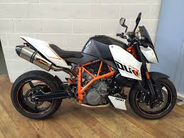 ktm 990 super duke r 2010 black white orange excellent