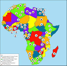 Coal Map Of The World by Energy Resources And Projects In Continental Africa 2012 Pearltrees