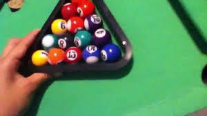 mini pool table review youtube