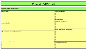 project charter template project charter example best 25 project