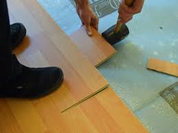 Laminate Flooring Over Concrete Slab How To Install A Laminate Floor How Tos Diy