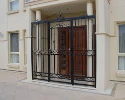 Unique Home Designs Security Doors Also With A Security Door Locks - Unique home designs security door