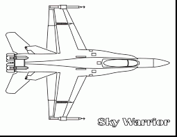 marvelous fighter jet airplane coloring pages with airplane