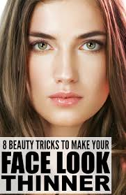 hair styles that thins u face 8 beauty tricks to make your face look thinner