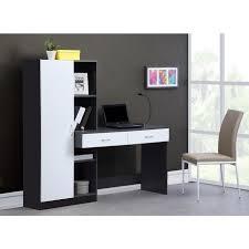bureau blanc et gris optim bureau contemporain dcor blanc et gris l 160 cm achat