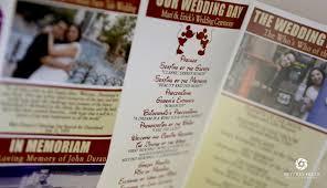 Magazine Wedding Programs A Dream Is A Wish Wedgewood Makes