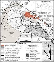 Wrangell Alaska Map by Miocene Basin Development And Volcanism Along A Strike Slip To