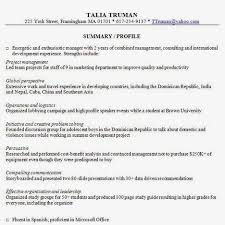 Resume Examples Summary by 461 Best Job Resume Samples Images On Pinterest Job Resume