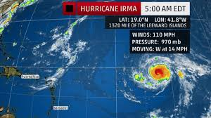 Puerto Rico Crime Map by Hurricane Irma Regenerates Its Eyewall As It Continues On A Path