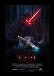 fanart star wars poster episode 8 the last jedi by uebelator on
