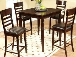 counter height bistro table round bar table and chairs freem co