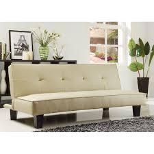 modern futon sofa bed lyra mid century style gray linen