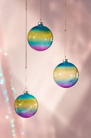 ornaments rainbow ornaments rainbow colored