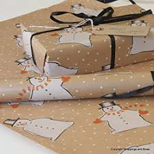 brown gift wrapping paper christmas kraft patterned brown gift wrapping paper