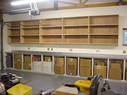 diy garage shelving ideas shelves 3 4 mdf board attached to wall