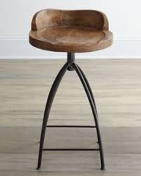 Bar Stool For Kitchen Square Wooden Seat Bar Stool High Chair Kitchen Counter Metal