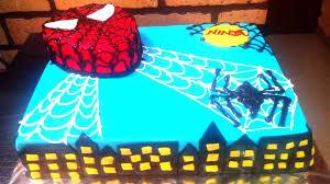 spider man cake design how to tutorial fondant birthday cake