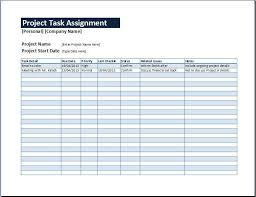 example of a project plan in excel project plan template in excel