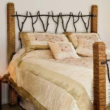 Rod Iron Headboard Rustic South Fork Wrought Iron Headboard Or King