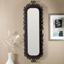 Entryway Armoire fascinating black polished iron wall mirrors with vintage style