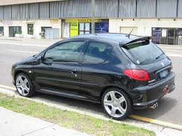peugeot black the peugeot 206 gti page