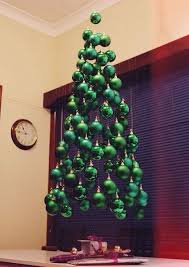 cheap christmas tree diy hanging ghost christmas tree like the ornaments to