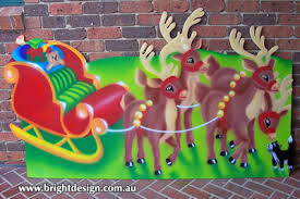 Christmas Decorations Outdoor Australia by Bright Design Section 01 Santa Sleigh Outdoor Christmas Displays