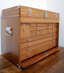 diy wood tool cabinet keep your easy to lose garage gear in a cool wooden tool chest