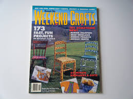 woman u0027s day weekend craft magazine spring 1995 173 fast projects